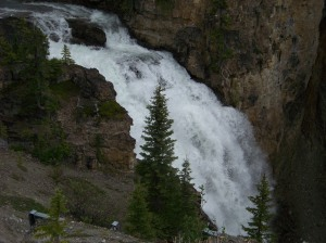 Waterfalls abound on the route
