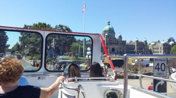 Victoria - bus ride
